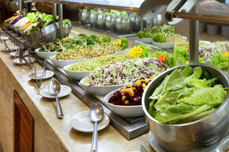 O Grand Palladium tem total cuidados em oferecer alimentos frescos e naturais para os hospedes