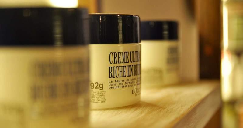 Cremes especiais oferecidos nos tratamentos Spa By L'Occitane