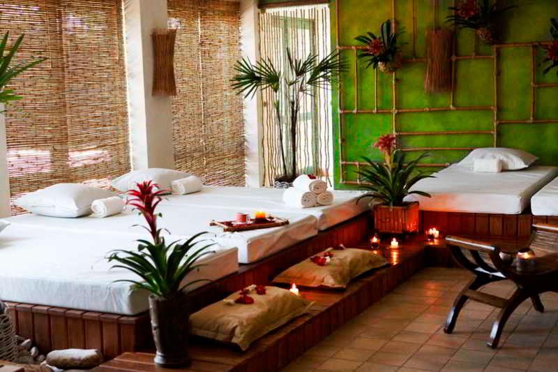 Espaços ideal para relaxamento