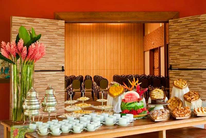 Buffet servidos para eventos ou cerimonias