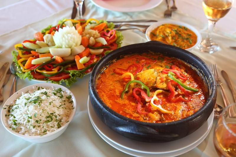 Porto Seguro trazendo comidas tipicas da região