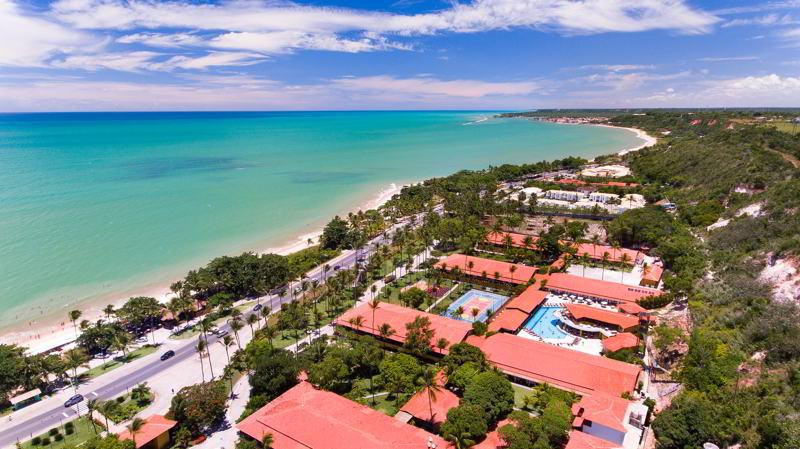 Vista aérea lateral Porto Seguro Praia Resort