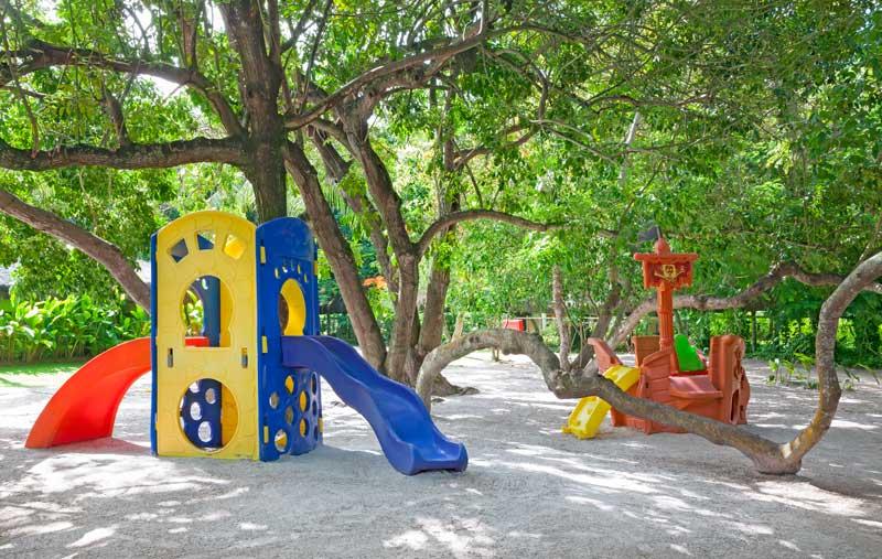 Parquinho com playground no Praia do Forte Resort