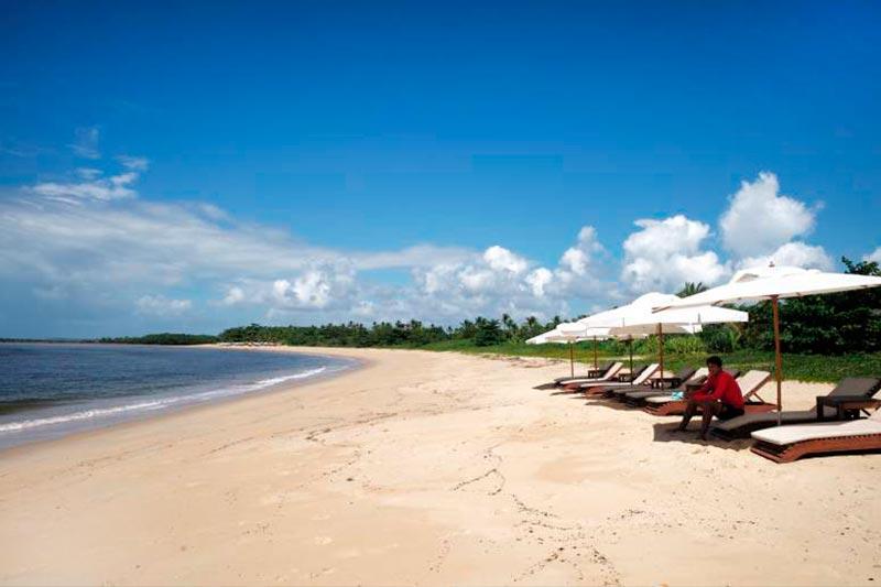 Praia em Santa Cruz de Cabralha no Campo Bahia