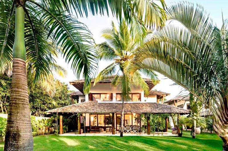 Villa Ocara fachada com área privativa
