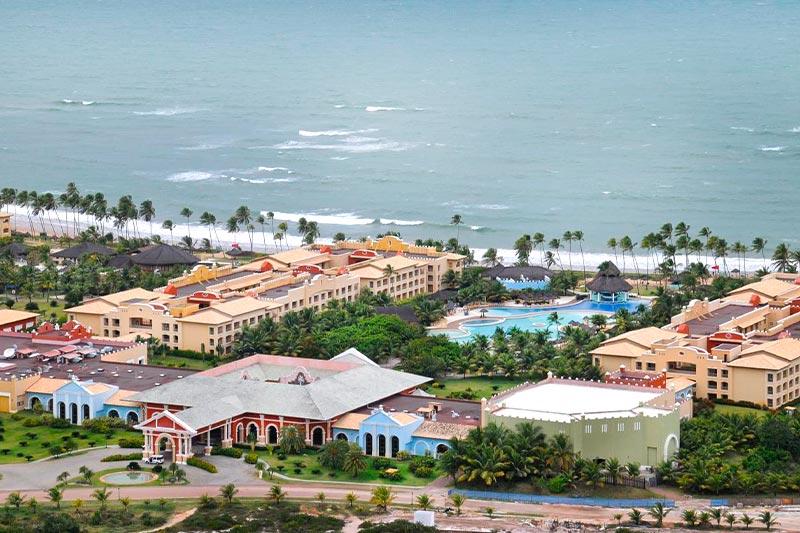 Vista aérea panorâmica do Iberostar Bahia