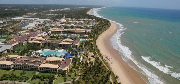 Vista aérea Praia do Forte
