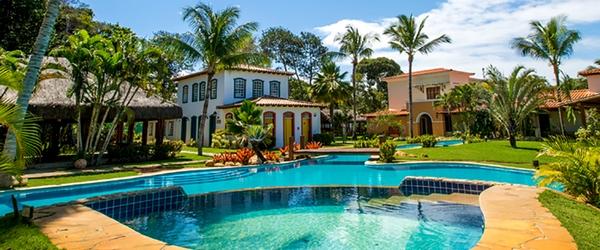 Vista panorâmica do Vila Angatu Eco Resort & Spa